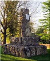 SP2824 : The William Smith memorial in Church Road by Steve Daniels