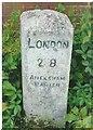 SU9398 : Old Milestone by A Rosevear & J Higgins