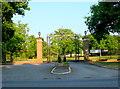 TQ1262 : Gates to Upper Court by Nigel Mykura