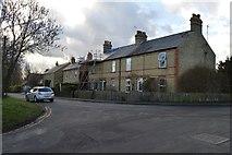 TL4158 : Terrace, Brook Lane by N Chadwick