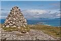 NM2825 : Cairn, Dun I by Ian Capper