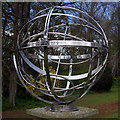NZ0516 : Armillary Sphere Memorial, Bowes Museum : Week 17