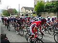SE1522 : Tour de Yorkshire, Clifton, the peleton climbing Clifton Common by Humphrey Bolton