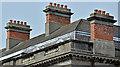 J2664 : Chimneys, the Wallace House, Lisburn (April 2017) by Albert Bridge