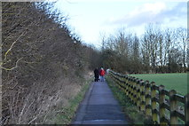 TL4258 : The Wimpole Way by N Chadwick