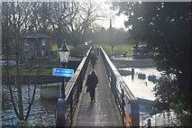 TL4459 : Jesus Lock Bridge by N Chadwick