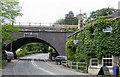 ST7660 : Midford: Hope & Anchor Inn and Midland Bridge, 2006 by Ben Brooksbank
