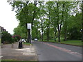 SP1081 : Bus stop on Robin Hood Lane (A4040) by JThomas