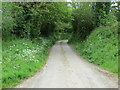 SW9247 : Road at Barteiliver by Peter Wood
