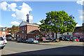TL2249 : Market Square, Potton by Robin Webster