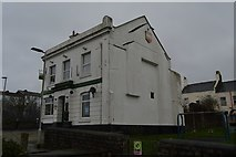 SX4555 : Closed pub, Morice Town by N Chadwick