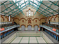 SJ8595 : Victoria Baths Gala/First Class Males Swimming Pool by David Dixon