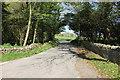 SH3868 : Lane near Hermon by Jeff Buck