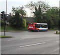 ST3091 : First Saturday bus of the day, Malpas, Newport by Jaggery