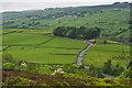 SE0137 : Road Descending to Sladen Bridge by Mick Garratt