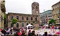 SJ8398 : Tributes in St Ann's Square by Bill Boaden