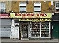 TQ3483 : Off-Licence, Broadway Market, Hackney : Week 22