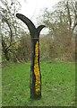 SX0071 : Milepost, Camel Trail by Derek Harper