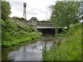 TQ0377 : A4 bridge over Colne Brook by Robin Webster