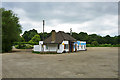 TQ0377 : Riverside Cafe, Colnbrook Bypass by Robin Webster