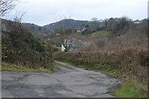 SX4761 : Track to Hayesend Farm by N Chadwick