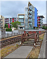 ST5872 : Bristol: flats by the harbour by John Sutton