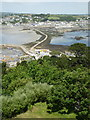 SW5130 : The Causeway, viewed from St. Michael's Mount by pam fray