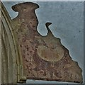 SP3533 : Hook Norton, St. Peter's Church: Fragment of medieval wall painting 6 by Michael Garlick