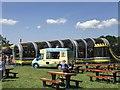 SJ4956 : Ice-cream van at Bolesworth by Jonathan Hutchins