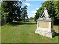 TL0834 : Statue near The Serpentine in Wrest Park, Bedfordshire by Richard Humphrey