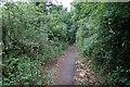 ST1337 : Footpath near Crowcombe by Bill Boaden