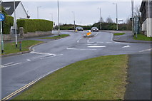 SX4960 : Roundabout, Southway Drive by N Chadwick