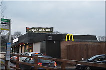 SX4859 : McDonald's, Tavistock Rd by N Chadwick