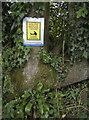 ST5662 : Polite poo notice by Neil Owen
