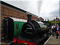 TQ5738 : Steam Engine, Tunbridge Wells West by Paul Gillett