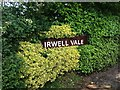 SD7920 : Irwell Vale station sign by Richard Hoare