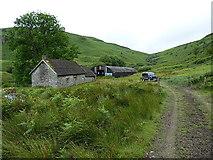 SH9621 : Hafod Fudr farm buildings by Richard Law