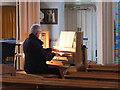 SW4730 : Organist, St Mary's Church, Penzance : Week 28