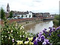 TF4609 : Nene Quay in Wisbech viewed from Freedom Bridge by Richard Humphrey