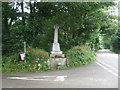 SW6031 : War Memorial, Godolphin Cross  by JThomas