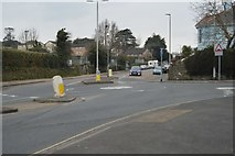 SX4956 : Eggbuckland Rd, Higher Compton Rd junction by N Chadwick