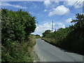 SW7330 : Minor road towards Falmouth by JThomas