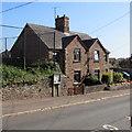 SO6101 : Semi-detached houses, Church Road, Aylburton by Jaggery