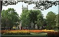 SE6132 : Selby Abbey viewed from Selby Park by Philip Halling