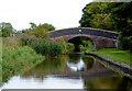 SJ5747 : Thomason's Bridge west of Wrenbury, Cheshire by Roger  Kidd