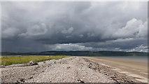 NH8058 : On the eastern beach of Whiteness Head by Julian Paren