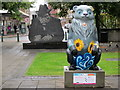 SP0787 : Birmingham Big Sleuth Vincent the Bipolar Bear & Tony Hancock Statue : Week 31