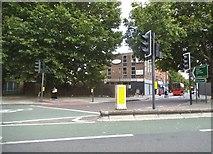 TQ3378 : Old Kent Road at the Bricklayers Arms by David Howard