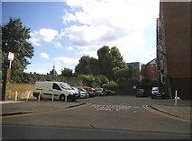 TQ3379 : Resident's car park on Long Lane, Bermondsey by David Howard