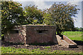 SJ7369 : WWII Cheshire, RAF Cranage, near Middlewich - pillbox (11) by Mike Searle
